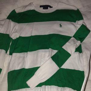 Ralph Lauren block strip sweater